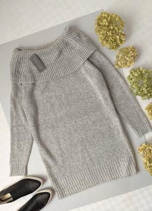 Вязаное платье свитер от new look