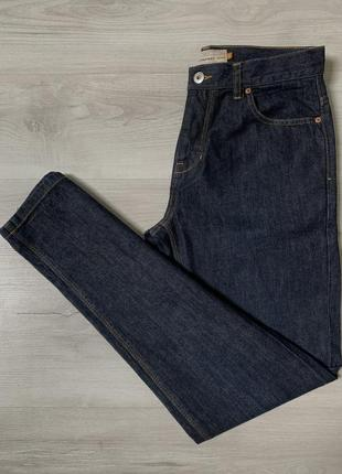 Прямі темно сині чоловічі джинси від next straight