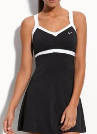 Nike dri fit платье для занятий теннисом