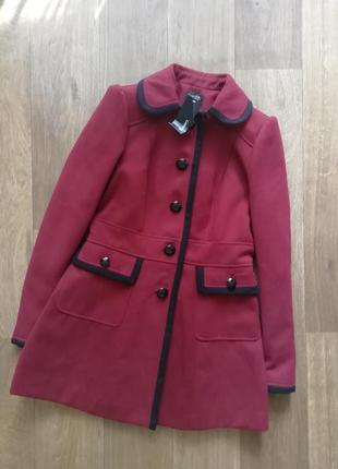 Шерстяное пальто, классическое пальто, куртка, курточка