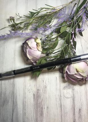 Карандаш для бровей темно-серый чёрный eyebrow pencil 20 black isadora