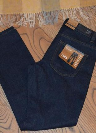 Мужские джинсы ovs 72d темно-синие размер м