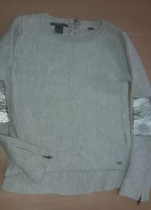 Maison scotch свитер шерсть замки