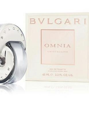 Женская туалетная вода bvlgari omnia crystalline 65 мл