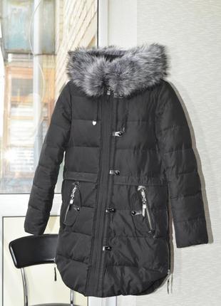 Пуховик куртка курточка зимняя зимний