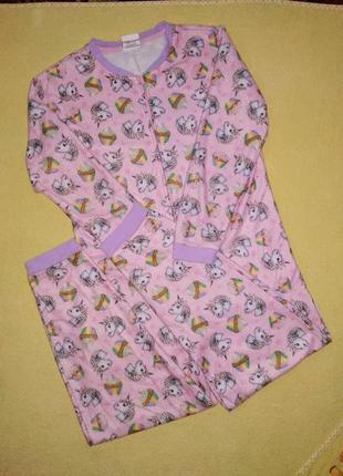 Пижама, тёплый слип, одежда для дома george 10-11 лет.