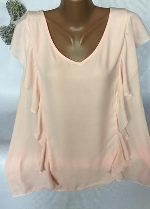 Шикарная нежная блуза , большого размера