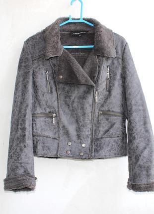Дублёнка куртка авиатор