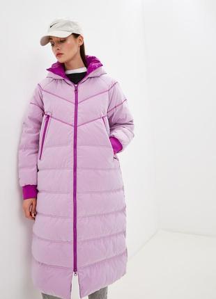 Шикарный длинный зимний пуховик nike city rdy dwn fill parka, пуховая куртка, оригинал
