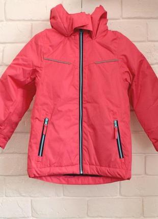 Яркая лыжная куртка для активных прогулок impidimpi 98-104
