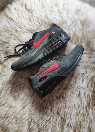 Замшевые кроссовки air max