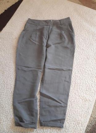 Отличные брюки , штаны из лиоцелла и льна
