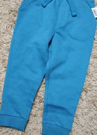 Утепленные штаны джогеры george 2-3 года