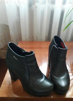 Кожаные ботинки 👍