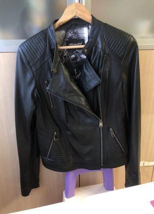 Косуха куртка кожа