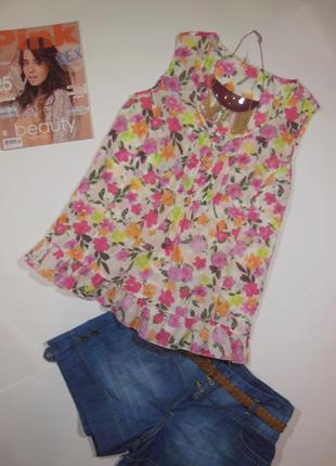 Блуза принт 100% котон