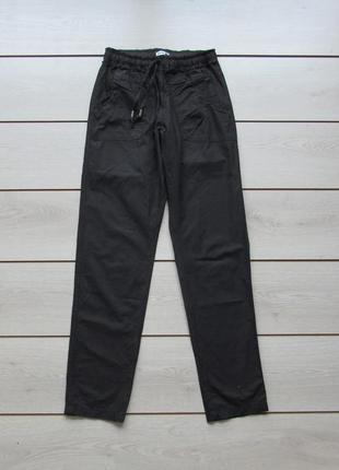 Легкие хлопковые брюки свободного коя а резинке от chicoree