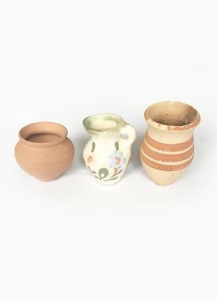 Малюсенькие вазочки, цена за лот