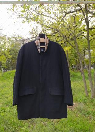 Burberry london шерстяное пальто с оригинальным подкладом
