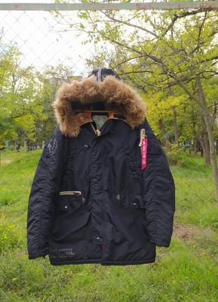 Куртка аляска alpha industries slim fit n3b parka