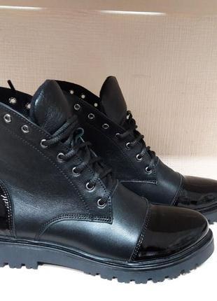 Ботинки кожа осень/зима р.36-41