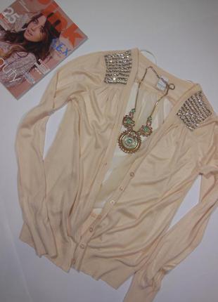 Блуза , кофточка с камнями