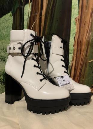 Ботильоны ботинки bershka