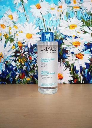 Мицеллярная вода урьяж для нормальной и сухой кожи uriage thermal micellar water