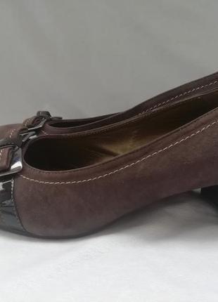Gaja кожаные туфли шкіряні туфлі р. 41 ст. 26,8 см