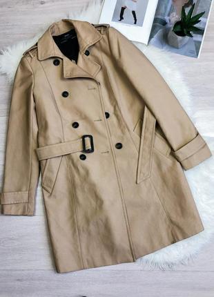 Стильный тренч пальто плащ zara