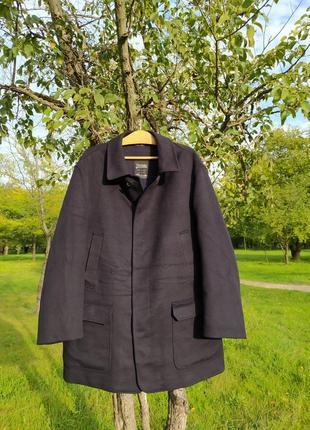 Herno пальто шерсть с кашемиром