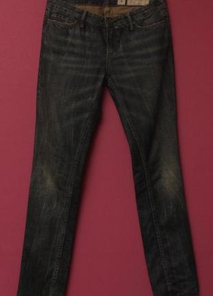 All saints 30 32 зауженые джинсы низкой посадки