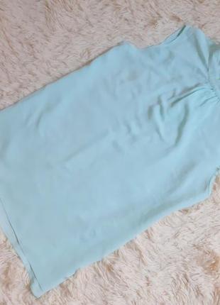Очень красивая мятная вискозная блуза топ от warehouse