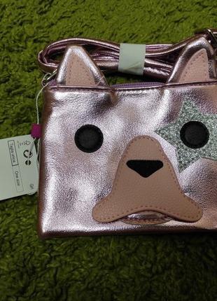 Красивая стильная сумочка собачка ovs