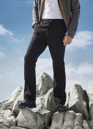 Мужские треккинговые брюки спортивные туристические штаны crivit германия bionic finish