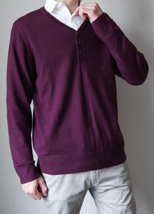 Темно - фиолетовый джемпер от george