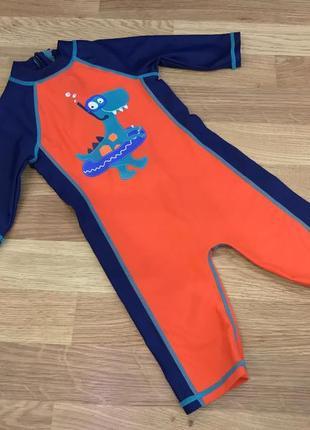 Купальный костюм с рукавом bluezoo