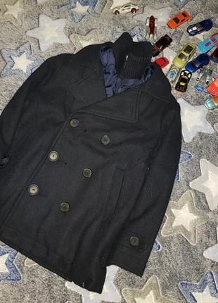 Zara boys стильное пальто 5-6 лет по бирке