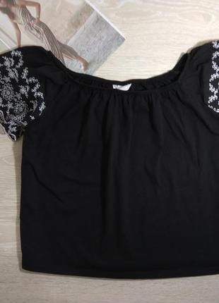 Трикотажна блуза h@m m