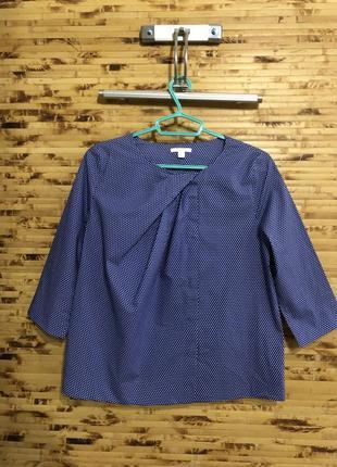 Рубашка блузка cos синего цвета