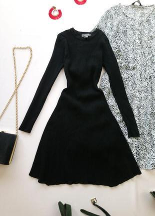 Плотное платье в рубчик primark