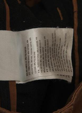 Carhartt wip sid pant 32/32 брюки из хлопка и полиестера зауженые