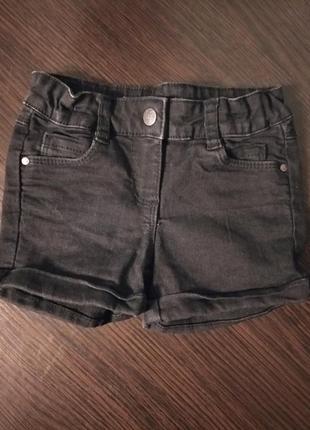 Джинсовые шорты, 3-4г