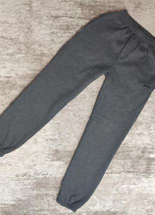 Оригинальные теплые спортивные штаны slazenger