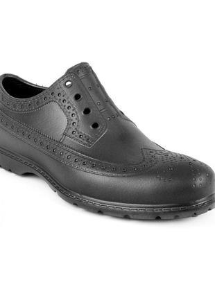 Туфлі гумові jose amorales 45 розмір black