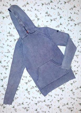 🌿1+1=3 фирменная теплая толстовка свитер худи лонгслив, размер 46 - 48, дорогой бренд