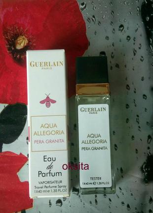 Мини парфюм,дорожная версия 40 мл pera granita aqua allegoria