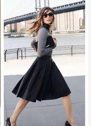 Ефектна чорна красива  спідниця , юбка  zara