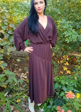 Эластичное элегантное платье zara m/l