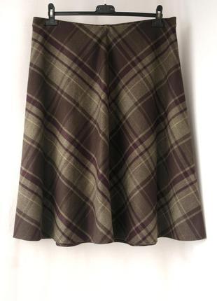 """Новая стильная юбка миди """"marks&spencer"""" большого размера. размер uk 20."""
